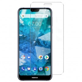 Herdet glass skjermbeskytter Nokia 7.1 2018 (TA-1095)