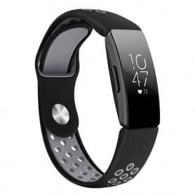 EBN Sport armbånd Fitbit Inspire / Inspire HR - Svart / grå