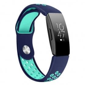 EBN Sport armbånd Fitbit Inspire / Inspire HR - Blå / mint