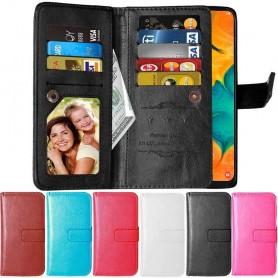 Dobbelt flip Flexi 9-kort Samsung Galaxy A30 (SM-A305F)