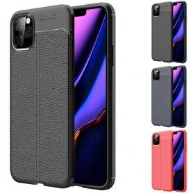 Lærmønstret mobilskall av silikon Apple iPhone XI Max 2019
