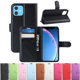 """Mobil lommebok 3-kort Apple iPhone XIR 6.1 """"2019 Mobildeksel for ny iPhone CaseOnline"""
