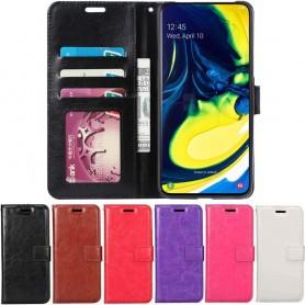 Mobil lommebok 3-kort Samsung Galaxy A80 (SM-A805F)