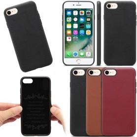 """Mobiltelefon Denior ekte skinndeksel Apple iPhone 7/8 (4.7 """")"""