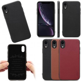 "Mobiltelefon Denior ekte skinndeksel Apple iPhone XR (6,1 "")"