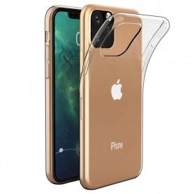 Silikonskall gjennomsiktig Apple iPhone XI Max 2019