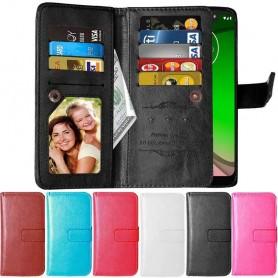 Dobbeltvipp Flexi 9-kort Motorola Moto G7 Power (XT1955) mobil deksel