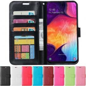 Mobil lommebok 3-kort Samsung Galaxy A50 mobiltelefon veske caseonline