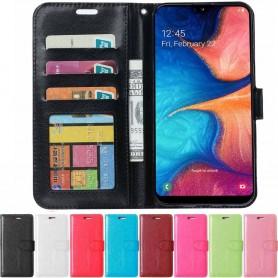 Mobil lommebok 3-kort Samsung Galaxy A20e (SM-A202F)