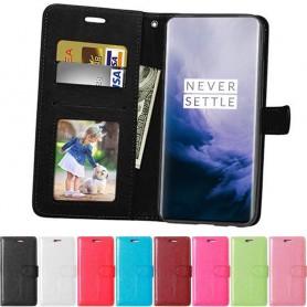 Mobil lommebok 3-kort OnePlus 7 mobil skallveske