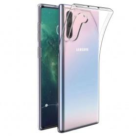 Silikonetui transparent Samsung Galaxy Note 10 (SM-N970F) mobil skall