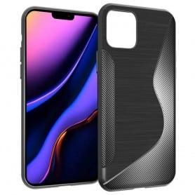 """S Line silikonetui til Apple iPhone XIR 6.1 """"2019 - Svart"""
