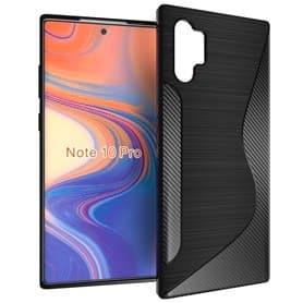 S Line silikonetui til Samsung Galaxy Note 10 Pro (SM-N975F)