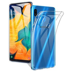 Silikonetui Gjennomsiktig Samsung Galaxy A10 (SM-A105F)