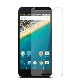 Skjermbeskytter med herdet glass LG Nexus 5X
