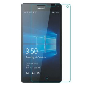 Skjermbeskytter med herdet glass MS Lumia 950