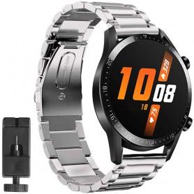 Huawei Watch GT2 rustfritt stål armbånd - sølv