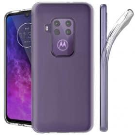 Silikonetui Gjennomsiktig Motorola One Zoom (XT2010-1)