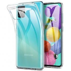 Silikonetui Gjennomsiktig Samsung Galaxy A51 (SM-A515F)