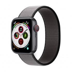 Apple Watch 5 (40mm) Nylon armbånd - Anchor Ash