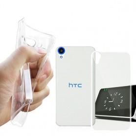 HTC Desire 820 silikon gjennomsiktig