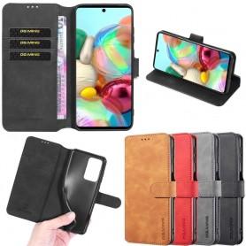 DG-Ming mobil lommebok 3-kort Samsung Galaxy A71 (SM-A715F)