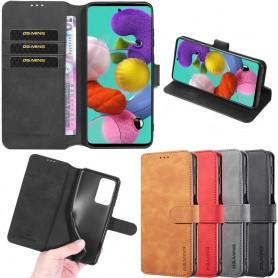 DG-Ming mobil lommebok 3-kort Samsung Galaxy A51 (SM-A515F)