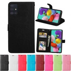 Mobil lommebok 3-kort Samsung Galaxy A51 (SM-A515F)
