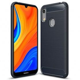 Børstet silikonskall Huawei Y6s (YAT-L29)