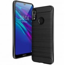 Børstet silikonskall Huawei Y6 2019 (MRD-LX1)
