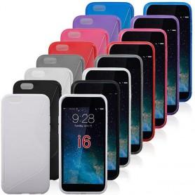 S Line Silikon trenger iPhone 6 Plus