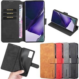 DG-Ming mobil lommebok 3-kort Samsung Galaxy A21s (SM-A217F)
