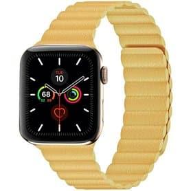 Apple Watch 5 (44mm) Loop bånd - Vinrød