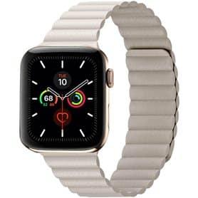 Apple Watch 5 (44mm) Loop bånd - Stone