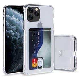 """Silikon deksel med kortholder Apple iPhone 12 Max (6.1"""")"""