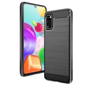 Børstet silikonskall Samsung Galaxy A41 (SM-A415F)