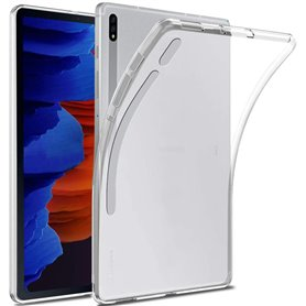 Silikon gjennomsiktig Samsung Galaxy Tab S7 Plus