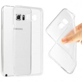 Galaxy Note 5 Edge silikon må være gjennomsiktig