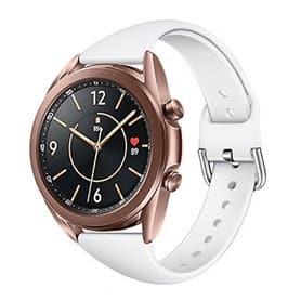 Sport armbånd till Samsung Galaxy Watch 3 (45mm) - Hvit