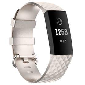Sport armbånd till Fitbit Charge 4 - Sølv