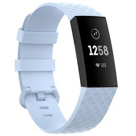 Sport armbånd till Fitbit Charge 4 - Lyseblå