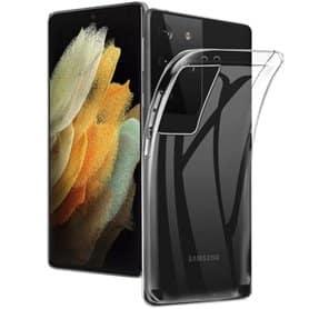 Silikondeksel gjenomsiktig Samsung Galaxy S21 Ultra