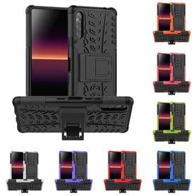 Støtsikker deksel med stativ Sony Xperia L4