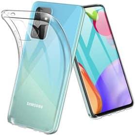 Silikondeksel gjenomsiktig Samsung Galaxy A72 5G