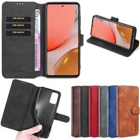 DG-Ming mobil lommebok 3-kort Samsung Galaxy A72 5G