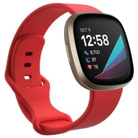 Sport armbånd till Fitbit Sense - Rød