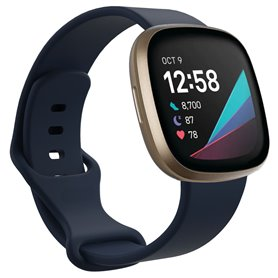 Sport armbånd till Fitbit Sense - Mørkeblå