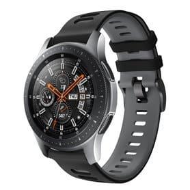 Twin Sport armbånd Samsung Galaxy Watch 46 - Svart/grå