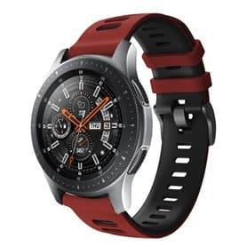 Twin Sport armbånd Samsung Galaxy Watch 46 - Rød/svart