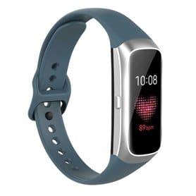 Sport armbånd silikon Samsung Galaxy Fit (SM-R370) - Gråblå